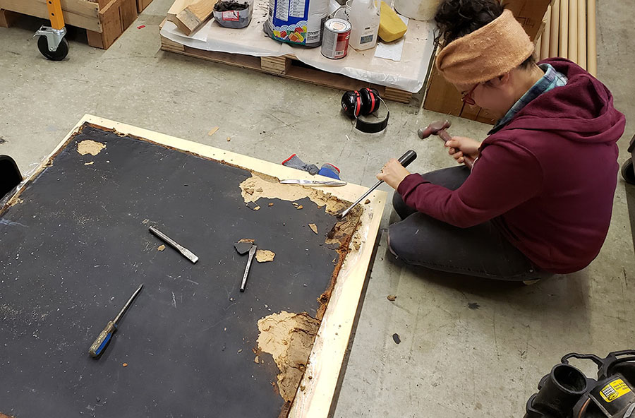 scraping-off-old-mosaic-backer